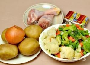 Суп из овощной смеси - фото шаг 1