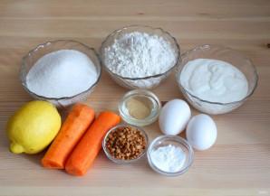 Морковный кекс со сметанно-лимонной пропиткой - фото шаг 1