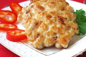 Рубленые куриные котлеты с сыром - фото шаг 8