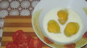 Омлет со спаржевой фасолью - фото шаг 3