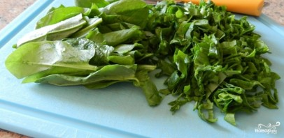 Зеленые щи из шпината - фото шаг 2