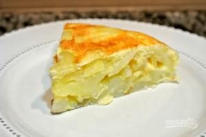 Омлет с картофелем - фото шаг 7