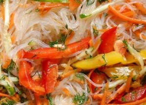 Салат из фунчозы по-корейски - фото шаг 4