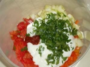 Коктейль из овощей в блендере - фото шаг 3