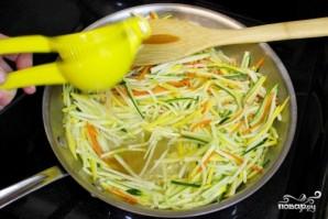 Салат из кабачков и моркови - фото шаг 3