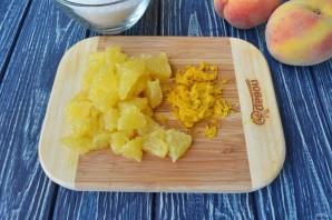 Варенье из персиков с апельсинами - фото шаг 2