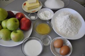 Медово-яблочный торт - фото шаг 1