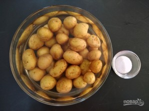 Молодая картошка во фритюре - фото шаг 1