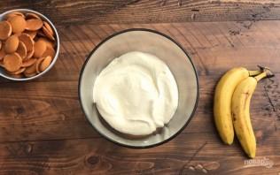 Ванильный пудинг с бананом - фото шаг 3