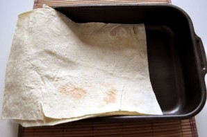 Ленивая лазанья из лаваша - фото шаг 6