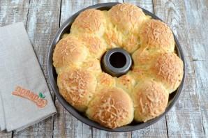 Обезьяний хлеб с чесноком и сыром - фото шаг 11