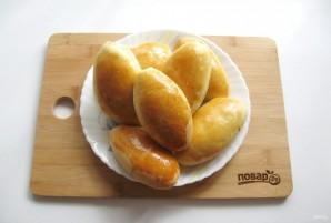 Духовые пирожки с грибами и рисом - фото шаг 17