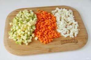 Суп с рисом и кабачком - фото шаг 3
