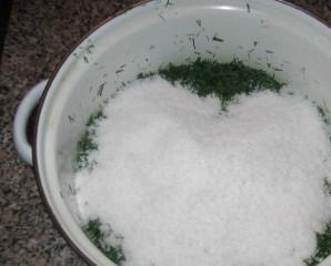 Зелень на зиму - фото шаг 4