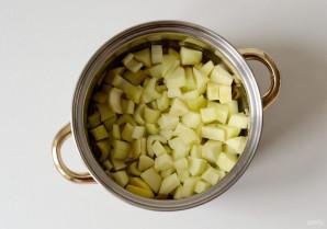 Суп с яблоком и сельдереем - фото шаг 5