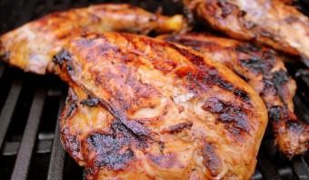 Карамелизированный рис с курицей - фото шаг 2