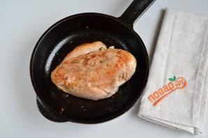 Нежный рисовый суп с курицей и шпинатом - фото шаг 6