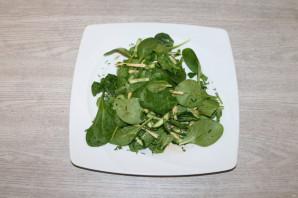 Диетический зелёный салат - фото шаг 10