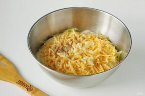 Картофельные оладьи с сыром - фото шаг 5