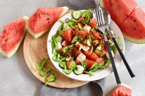 Салат из арбуза - фото шаг 6