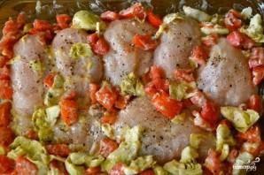 Куриное филе под сыром в духовке  - фото шаг 2