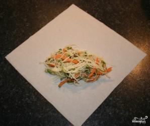 Спринг роллы с овощами - фото шаг 6