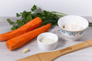Салат с морковью и хреном - фото шаг 1