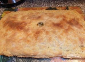 Кубете (пирог с мясом и картофелем) - фото шаг 9