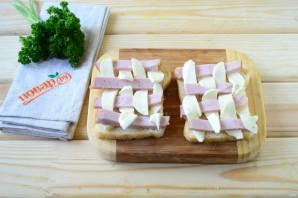 Горячие бутерброды Шахматы - фото шаг 2