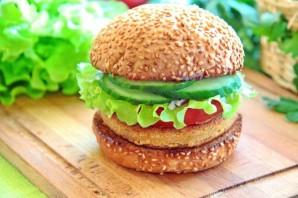 Вегетарианский бургер (мастер-класс) - фото шаг 15