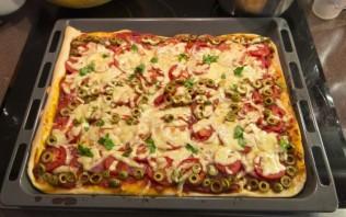 Тесто для итальянской пиццы - фото шаг 6