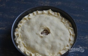 Пирог с фаршем и картошкой - фото шаг 10