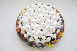 Ореховый пирог с меренгой - фото шаг 13