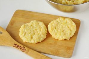 Картофельные оладьи с сыром - фото шаг 7
