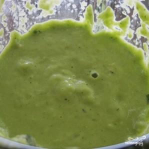 Зеленый гаспачо для сыроедов - фото шаг 5
