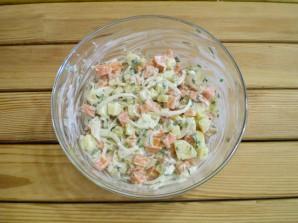 Салат из моркови и картофеля - фото шаг 9