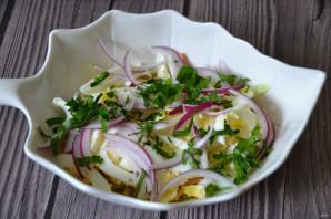 """Салат с копченым сыром """"Косичка"""" - фото шаг 10"""