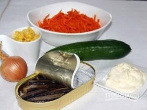 Салат из шпротов - фото шаг 1