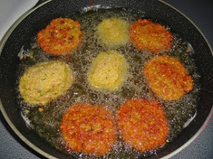 Котлеты из гороха вегетарианские - фото шаг 5