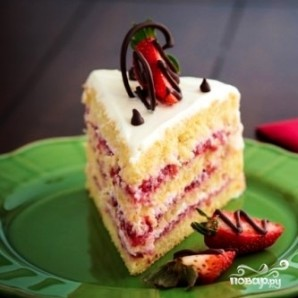 "Торт ""Клубничка"" - фото шаг 13"