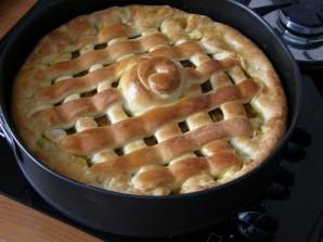 Вегетарианский пирог с капустой - фото шаг 9