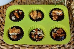 Шоколадные конфеты с орехами - фото шаг 8