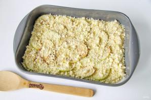 Яблочный пирог со штрейзелем - фото шаг 9