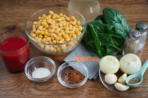 Пряный марокканский суп из нута - фото шаг 1