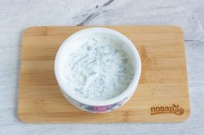 Кабачки в йогуртовом кляре с сыром - фото шаг 9