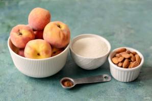 Персиковое варенье с миндалем - фото шаг 1