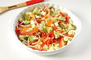 Овощи в томатном соке - фото шаг 2