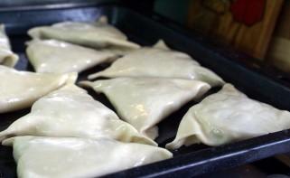 Узбекские пирожки с мясом - фото шаг 8