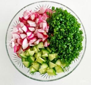 Салат на ужин - фото шаг 1