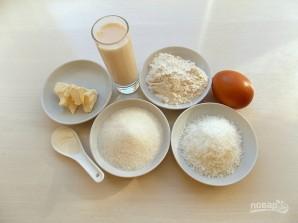 Пирог с кокосовым штрейзелем - фото шаг 1